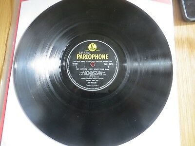 THE BEATLES - SGT. PEPPER`S LONELY HEARTS CLUB BAND... - UK - 1st PRESS - MONO -