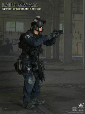 EASY&SIMPLE ES 1/6 26028 LAPD SWAT Special Weapon And Tactical Action Figure New