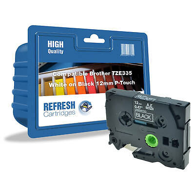 Refresh Cartridges Tz-335 Compatible With Brother Printers