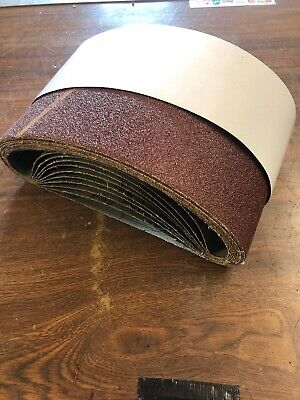 100 x 610mm 10X P40 Grit Sanding BELTS