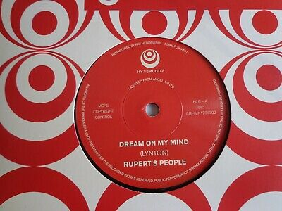"Rupert's People  Dream On My Mind  Hold On   7"" Vinyl  Mod Psych Re release"