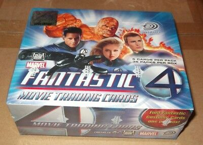 Upper Deck FANTASTIC FOUR MOVIE TRADING CARD BOX Fantastic 4