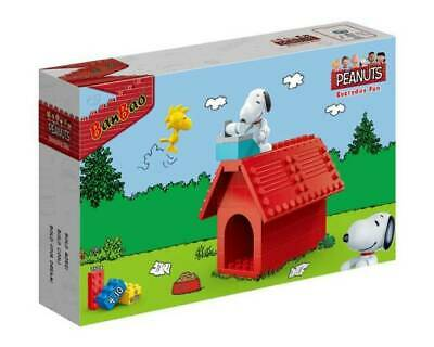 BanBao Peanuts Snoopy Kids Building Bricks House 60 Pcs collector NUOVO!!