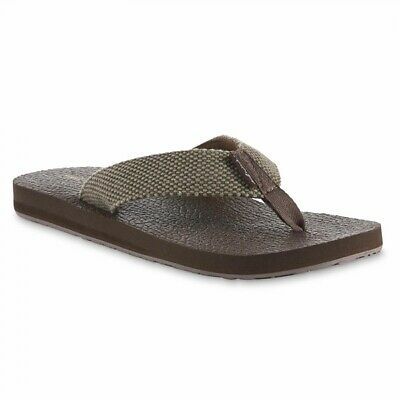 Maui and Sons Mens Graphic Slide Flip-Flops Sandals BHFO 6946