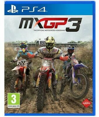 Mxgp 3 Videogioco Mx Gp Moto Cross Ps4 Sport Corse Italiano Play Station 4