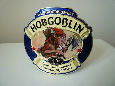 HOB GOBLIN BEER TAP PLAQUE Including clamp