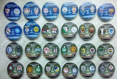 ALL 2016 / 2017 EUROPA LEAGUE Group Stage & Play Off 2017 match badges