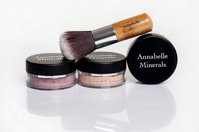 Annabelle Minerals Blush Powder Blusher Nude Rose Sunrise Full Size 4g