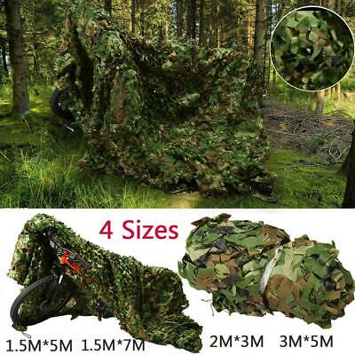 4 Sizes Camouflage Net Camo Netting Hunting Shooting Hide Army Lightweight  NEW