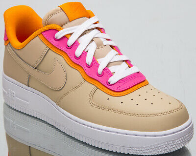 3968f033b4 Nike Air Force 1 '07 SE Women's New Desert Ore Lifestyle Sneakers AA0287-202