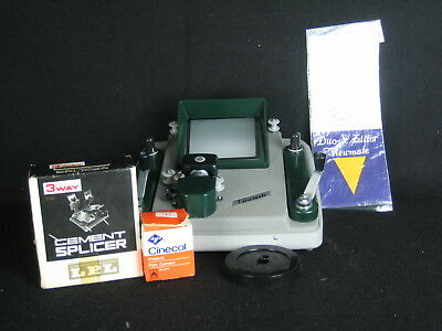 Vintage  King Duo-8 Editor Viewmate  and a universal splicer etc