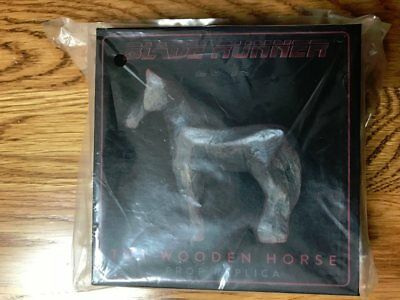Blade Runner 2049 wooden toy horse prop by NECA  limited edition brand new box