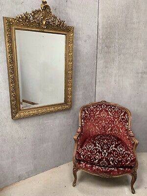 Small 19th Century French Antique Mirror