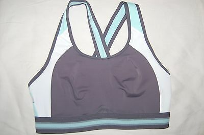 M&S High Impact Sports Bra Infin8 Non Wired Non Padded Mint Mix Size 36A BNWOT