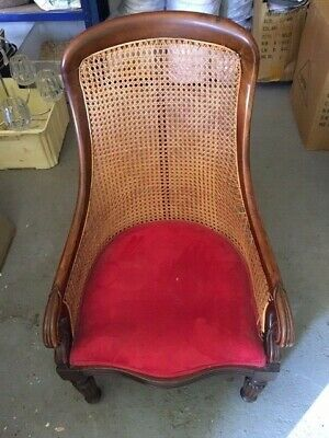 Georgian or Early Victorian  cane back chairchair