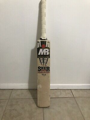 5a5f3570b7c MB MALIK SHER Amin cricket bat -  130.00