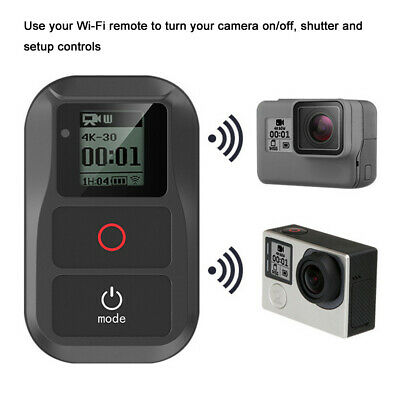 Suptig Waterproof WIFI Remote Control For Gopro Hero 6/5/4/3+/3/4 Session