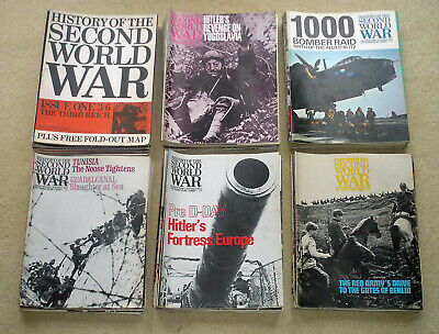 Purnells history of Second World War magazines from 1966 - 1968