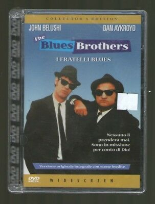 THE BLUES BROTHERS Collector's Edition - DVD Super Jewel Box - NUOVO Widescreen