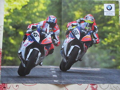 Poster 2 Pages Moto : Bmw Gamme + 2 Bmw S 1000 Rr
