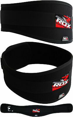 RDX Weight Lifting Belt Gym Power Training Back Support Lower Lumbar Pain Wide L