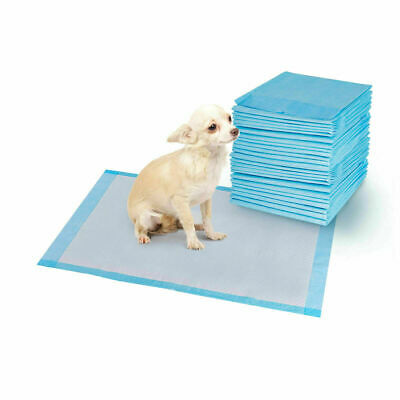 200 PCS 24'' x 24'' Puppy Pet Pads Dog Cat Wee Pee Piddle Pad training underpads