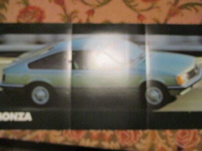 Poster 3 Pages Auto : Opel Monza