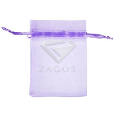 25pcs 9x12cm Lavender Organza Xmas Gift Bags Wedding Candy Pouches Craft Jewelry