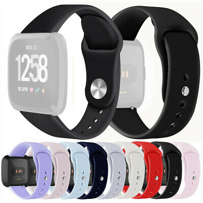 Small/Large Sports Replacement Watch Band Wrist Strap For Fitbit Versa Lite 22mm