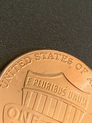 2018 D Lincoln Shield Penny wtih Reverse Die Crack Error #P -2