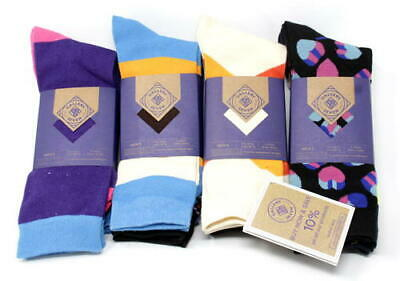 Gallery Seven Mens Dress Socks, Funky Colorful, 12 Pack, Size 10-13