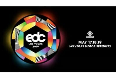 EDC 2019 ELECTRIC DAISY CARNIVAL Vegas General Admission TICKET