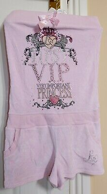 Girls Lipsy Playsuit Aged 11-12, Pink, Used