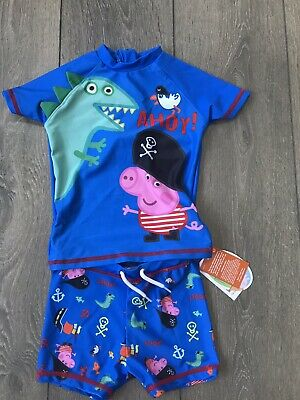Baby Boy BNWT Next 2 Piece Sun Protection Suit Age 12-18 Months