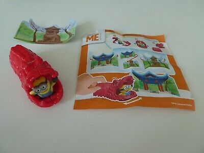 Maxi Kinder Egg Toy - Despicable Me - Minions Around The World - Plus Paper