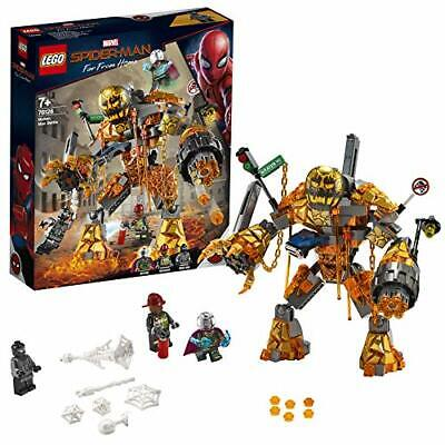 LEGO Marvel Super Heroes Spider-Man Molten Man Battle Set 76128