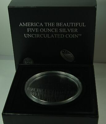2013 Fort McHenry Maryland 5 oz ATB, OGP Box, COA, and Capsule, NO COIN