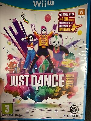 BRAND NEW AND SEALED Just Dance 2019 Wii U