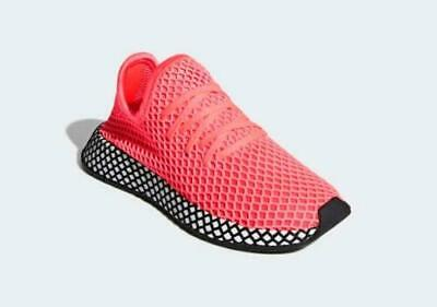 85c220452 adidas Originals Deerupt Runner Boys  Grade School Turbo Turbo Black B41878