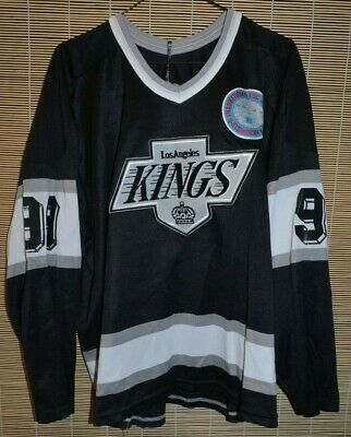 49f2b2777 NHL LOS ANGELES KINGS hockey jersey shirts CCM LEGEND #99 WAYNE GRETZKY  CANADA