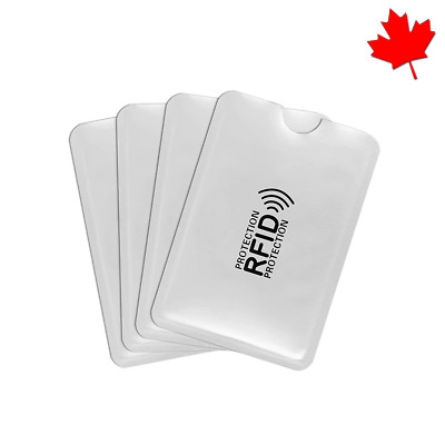RFID Credit Card Blocking ID Secure Travel Security Sleeves Holders Cases