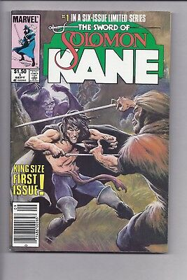 High Grade Canadian Newsstand Edition Solomon Kane #1 $1.50 Price Variant