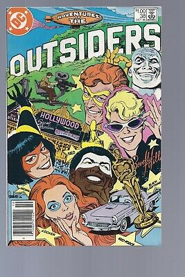 High Grade Canadian Newsstand Adventures of the Outsiders 38 $1.00 Price variant