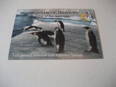 British Antarctic Territory 2006  Penguins Of The Antarctic  12X Airmail Postcar