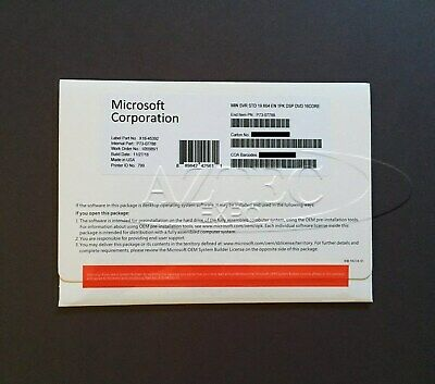 Microsoft Windows Server 2019 Standard 64bit OEM P73-07788 - BRAND NEW-*
