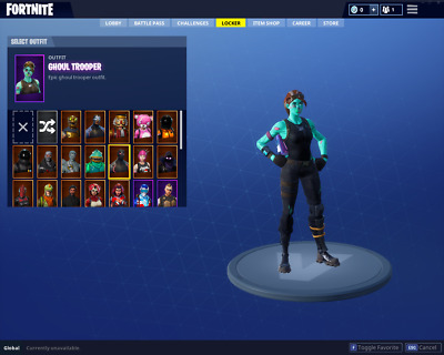 Ghoul Trooper Fortnite Rare & Exclusive! Read Description