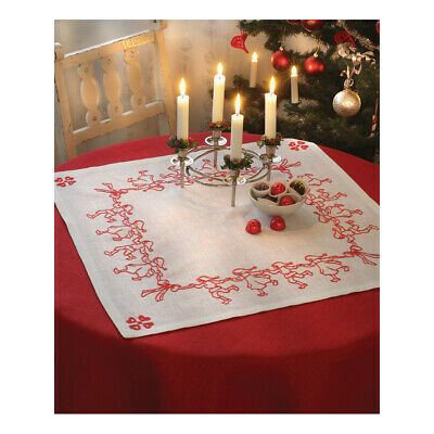 ANCHOR | Embroidery Kit: Dancing Santa Elves -  Tablecloth | 92400002534
