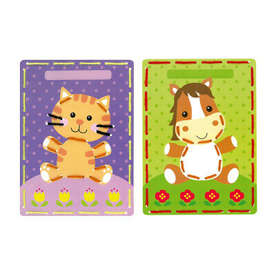 VERVACO|Embroidery Cards: Cat & Pony Pk2|PN-0164929