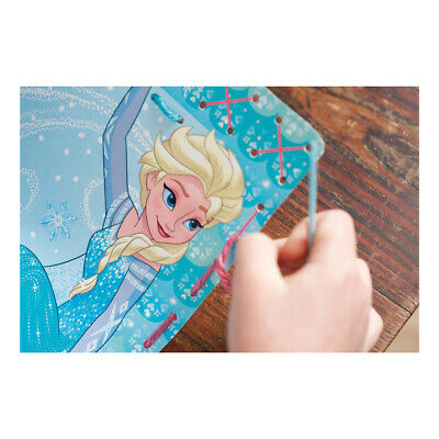 VERVACO|Embroidery Kit: Printed Cards: Anna + Elsa Frozen - Set of 2|PN-0166504