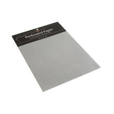 MILL HILL | Scrapbooking and Needlework Perforated Paper: Silver MHPP6